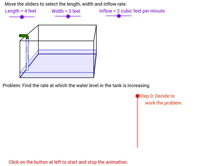 Fish Tank Problem - Animated
