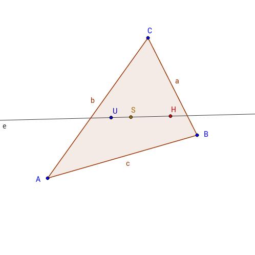 Eulersche Gerade