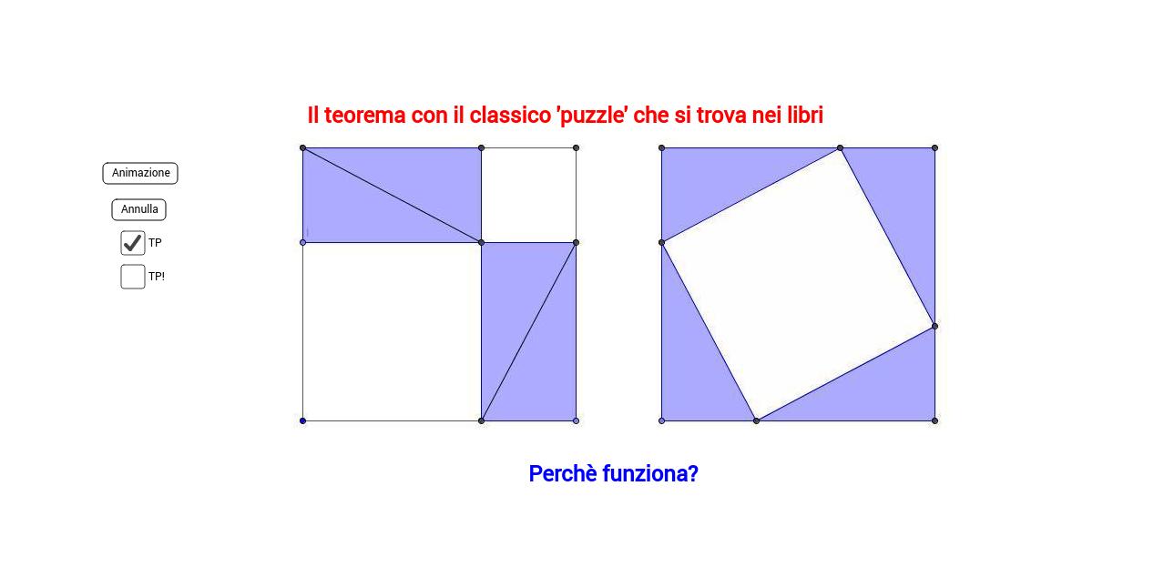 Teorema di Pitagora con Euclide