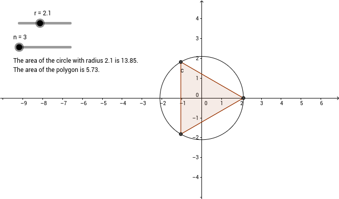 Circle Area Approximation 1