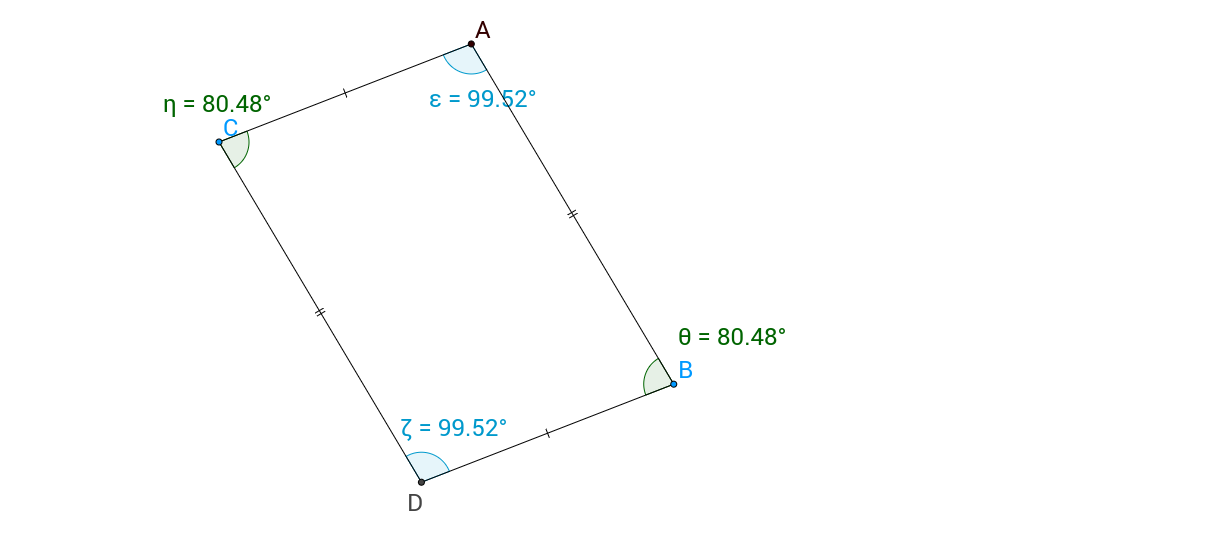 Parallelograms #3 - Relationship between Interior Angles