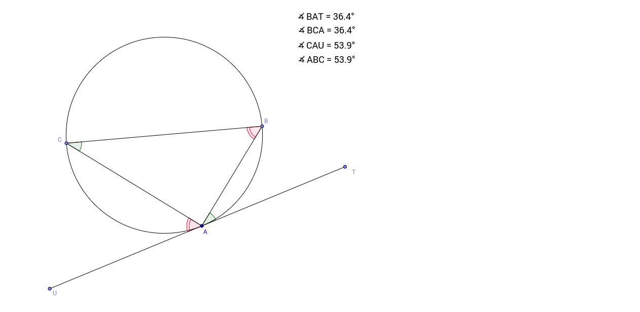 03. Tangent-Chord Theorem