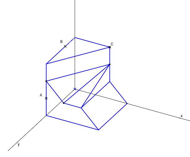DT2.Axonométrico. Problema 2.05