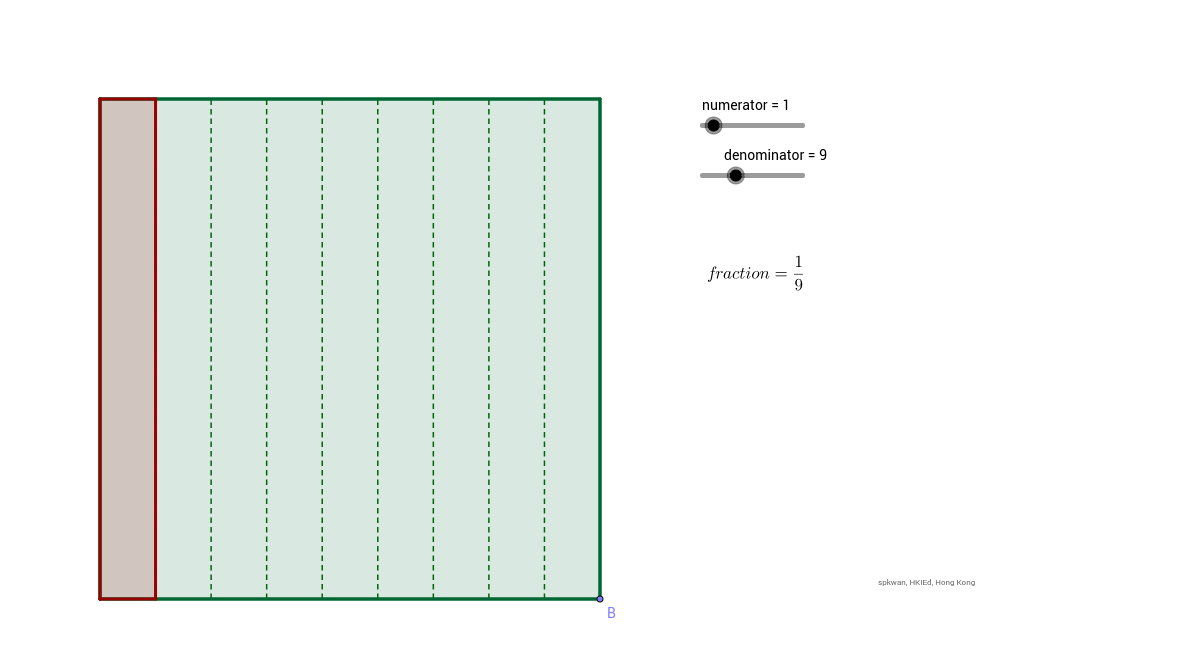 Area Model for fractions/probability