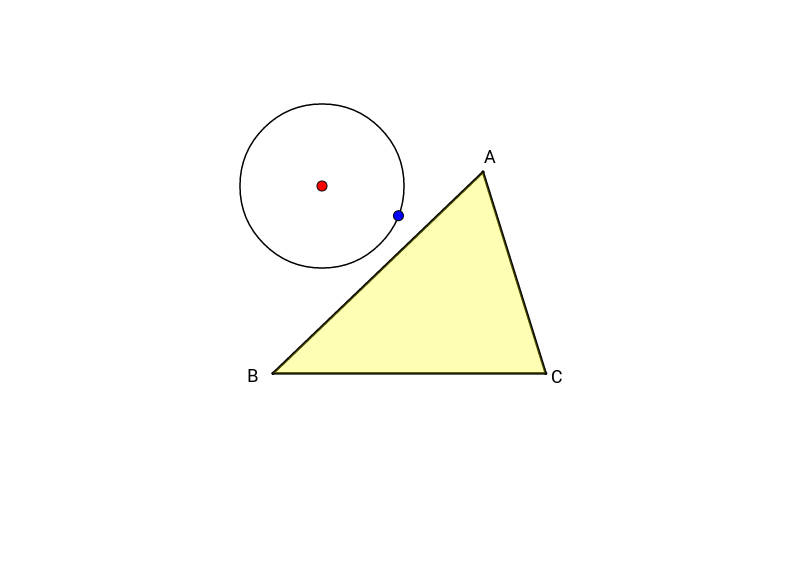 Circumcircle of a triangle (Soft Construction)