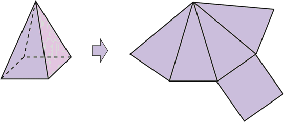 Pirámide (Base Cuadrangular) - GeoGebra