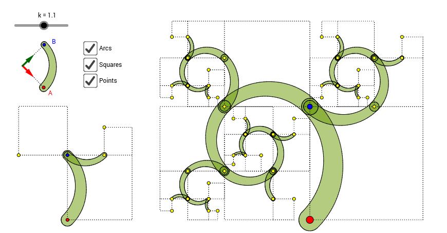 哈里斯螺旋 - 框線版 (Harriss Spiral)
