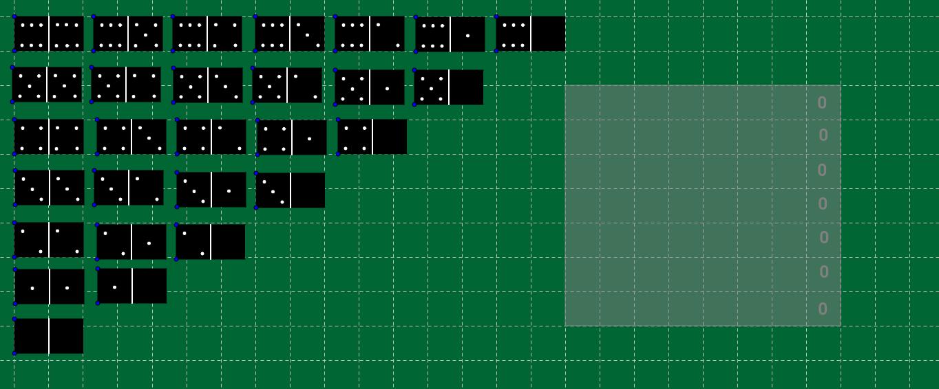 Domino magični pravougaonik