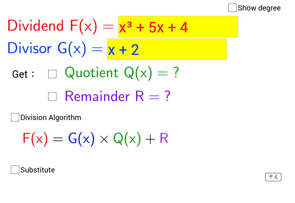 Division Algorithm Remainder Therorem GeoGebra – Remainder Theorem Worksheet