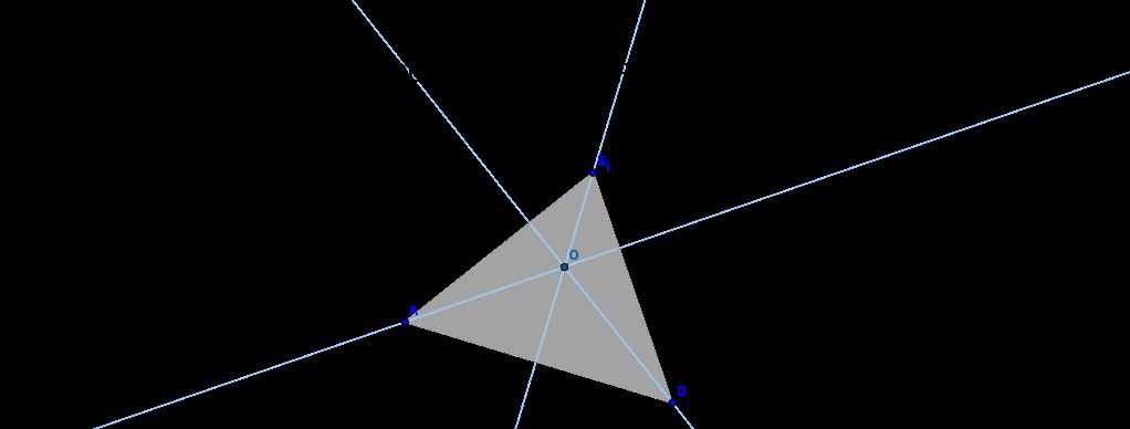 Ortocentro de un triangulo