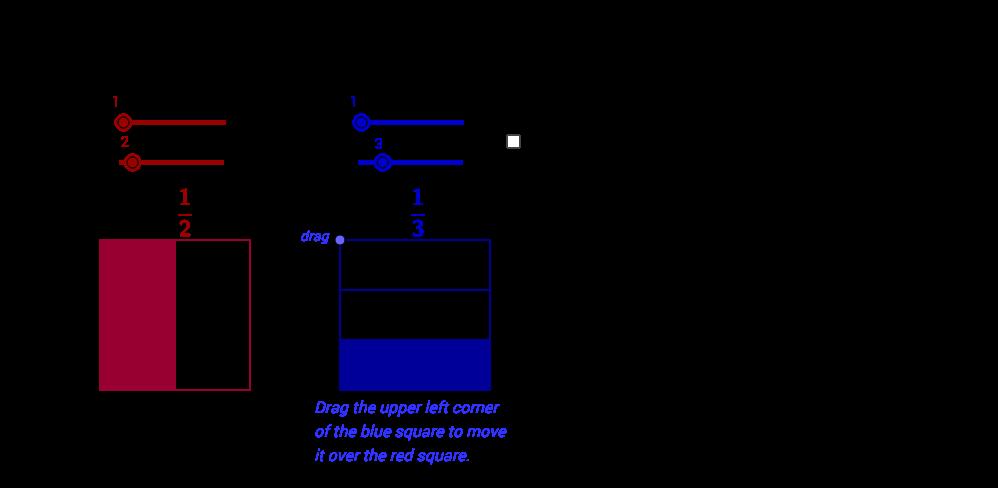 multiplying fractions area model geogebra. Black Bedroom Furniture Sets. Home Design Ideas
