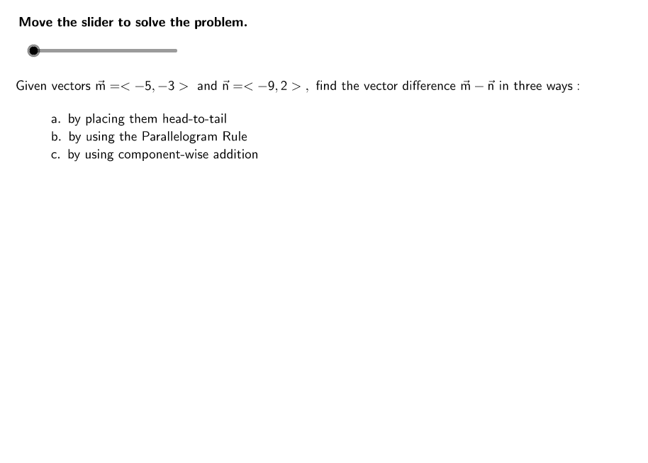 CCSS Honors Math II 2.2 Example 2