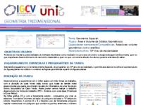 Poster_Reinaldo Rocha e Sueli Rocha_Área e Volume de Sólidos Geométricos_Seminário_IGUniCV_27 e 28-07-2017