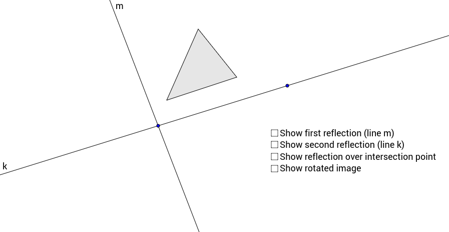 Double Reflection Over Intersecting Lines