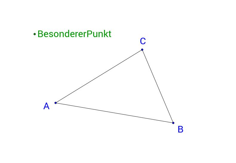 Seitenhalbierende im Dreieck
