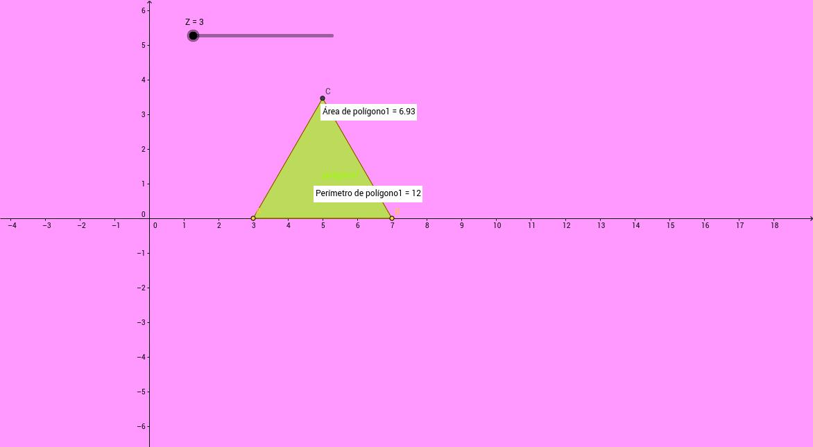 Polígonos regulares, relaciones y cálculos.