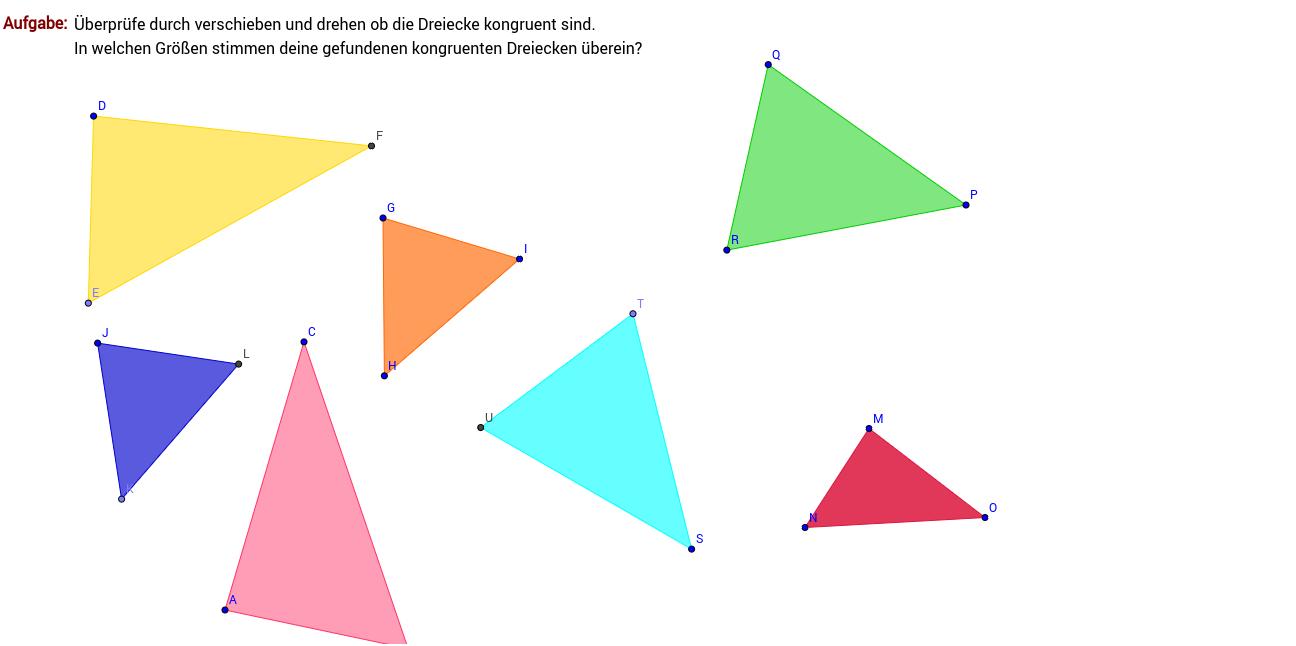 Outstanding Kongruente Dreiecke Arbeitsblatt Antworten Ideas ...