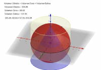 Volumen Cilindro-Cono-Esfera
