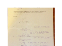 solutions to linear inequalities worksheet.pdf