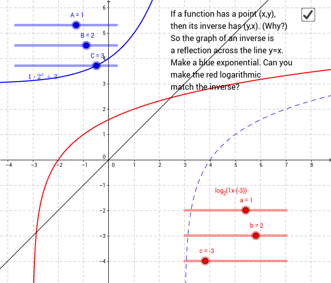 Matching an Exponential Inverse