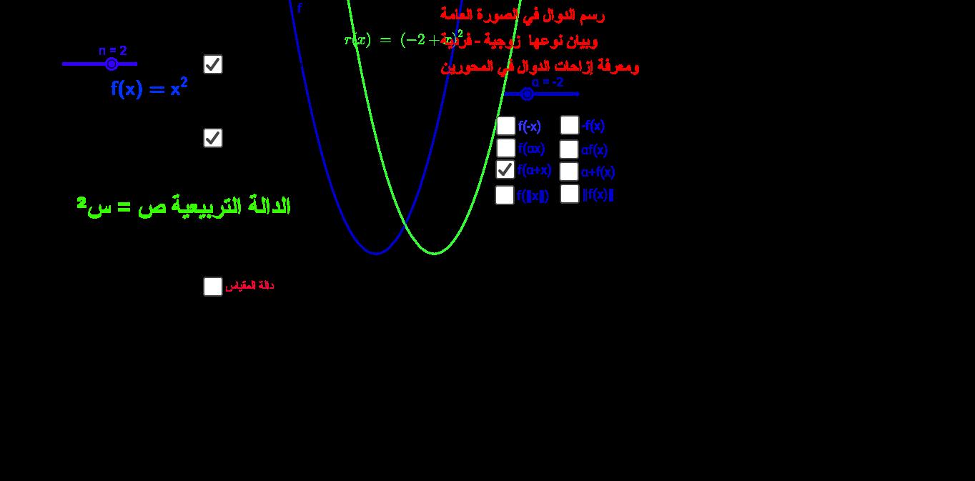 function الدوال