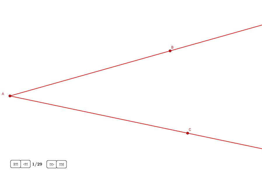 Tres círculos tangentes entre dos rectas