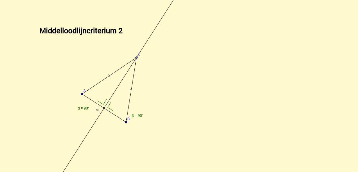 Middelloodlijncriterium 2