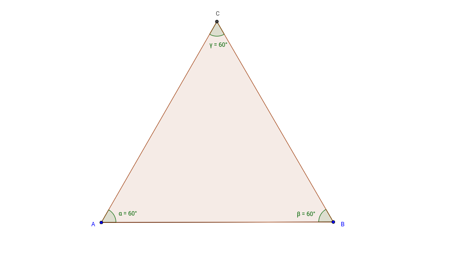 Equilateral Triangle Construction in GeoGebra