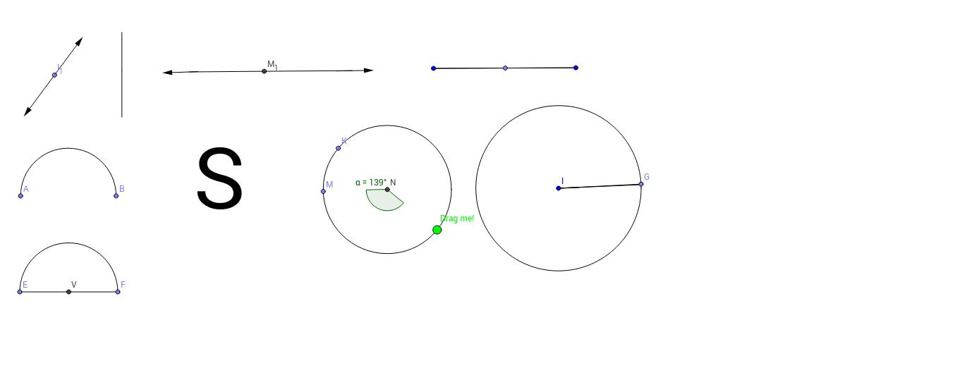 1-line and 0-line Angles