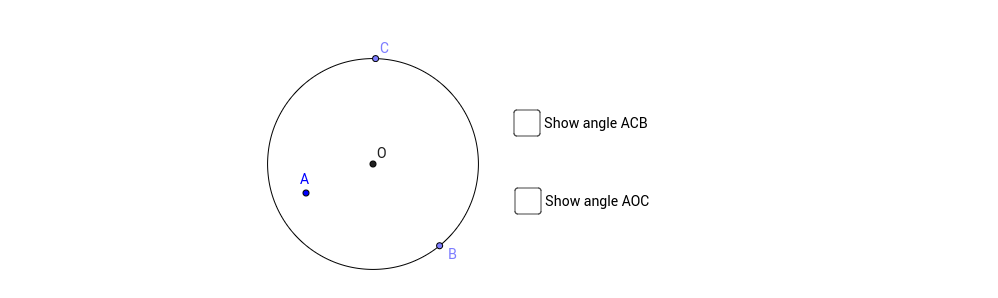 Angle in the centre_V6_pt not on circle