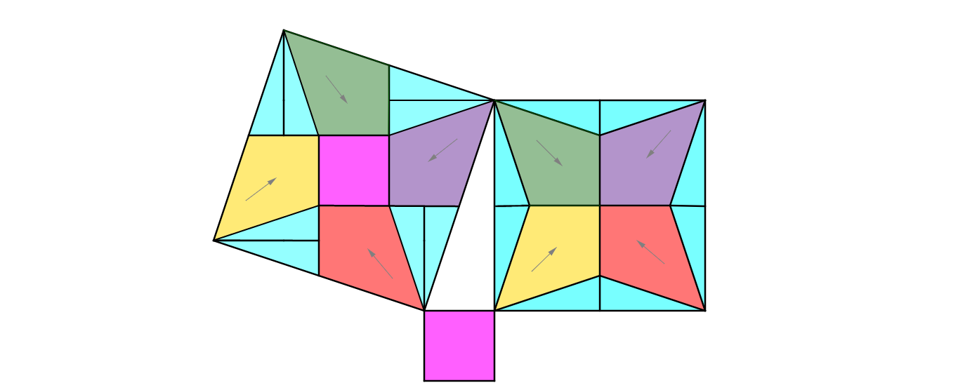 Pythagorean Theorem Proof Puzzle # 18