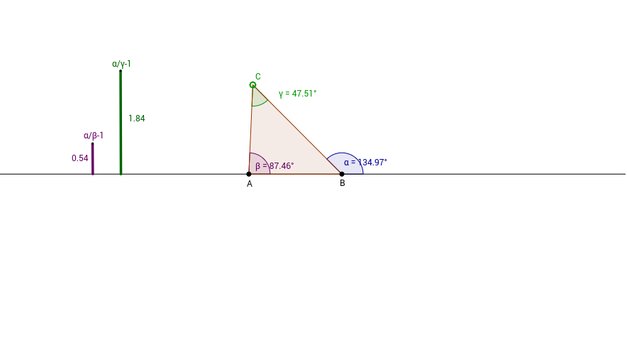 Exterior angle inequality theorem geogebra - Exterior angle inequality theorem ...
