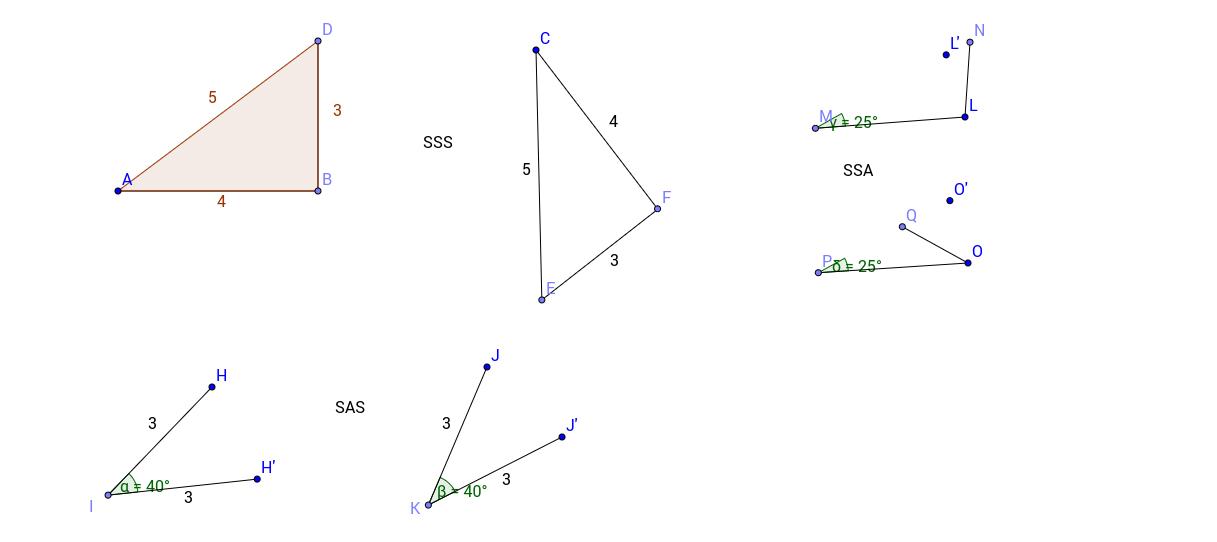 Triangle Congruence Exploration GeoGebra – Proving Congruent Triangles Worksheet