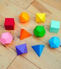 área y volúmen de poliedros