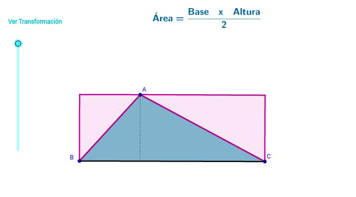 Área triángulo 2