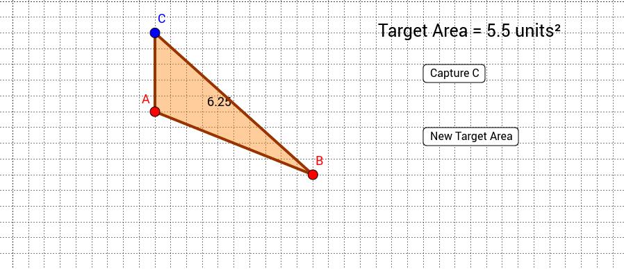Triangle Target Area