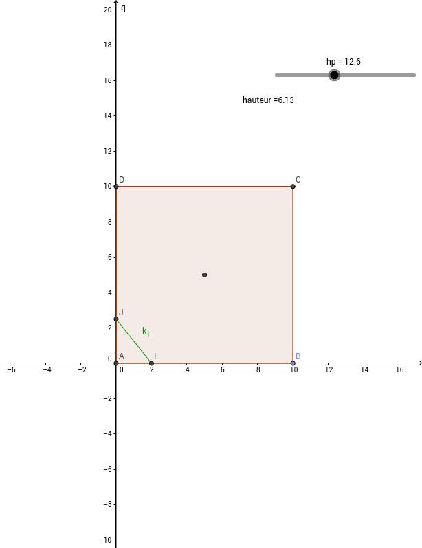 Math Géométrie 3D: Fromage de chèvre
