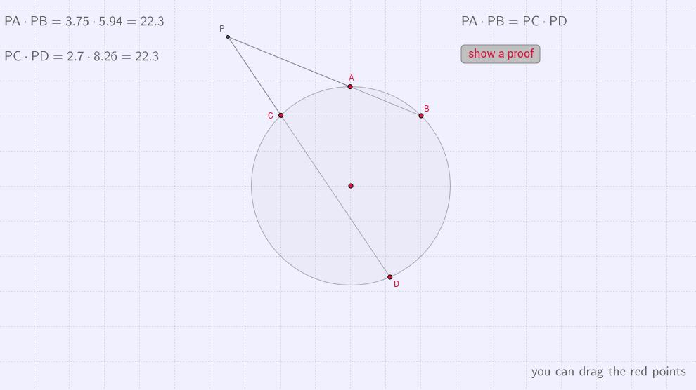 secant-secant theorem