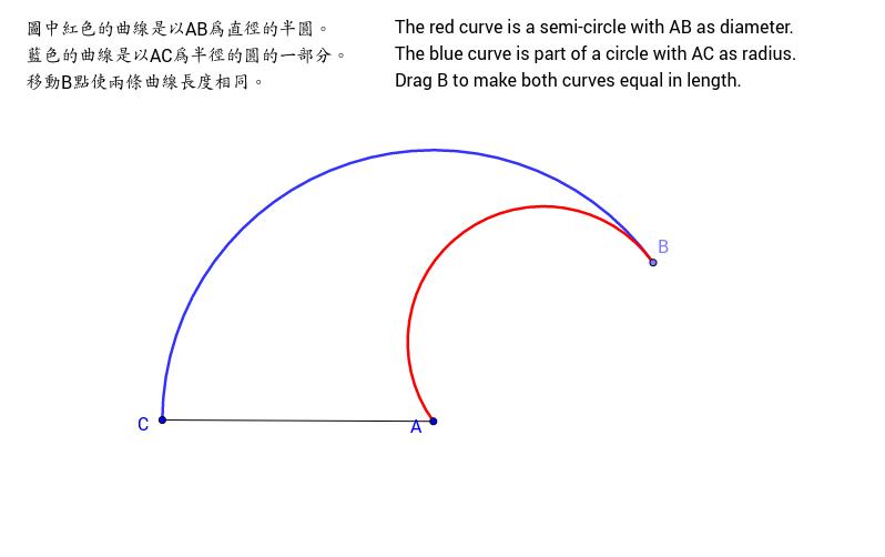 Length of Arcs