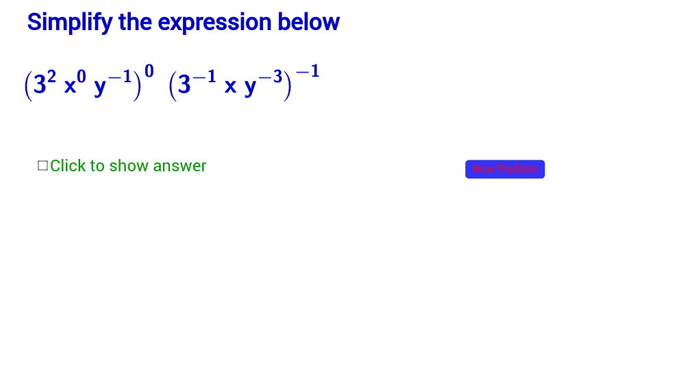 Simplify Expressions with Exponents, More Diffic-Section 4.2