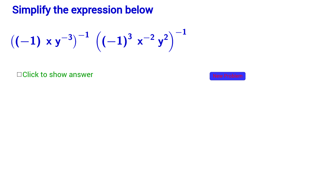 Simplify Expressions with Exponents, More Diffic-Section 4.2 ...