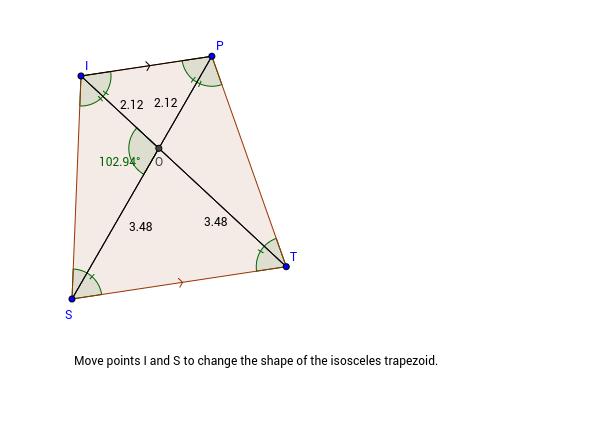3.5.2 Diagonals of Isosceles Trapezoids