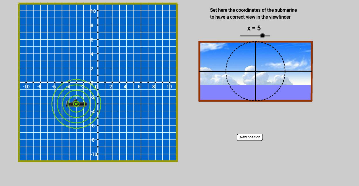 Sistema de Coordenadas Cartesianas Bidimensional ( Jogo )