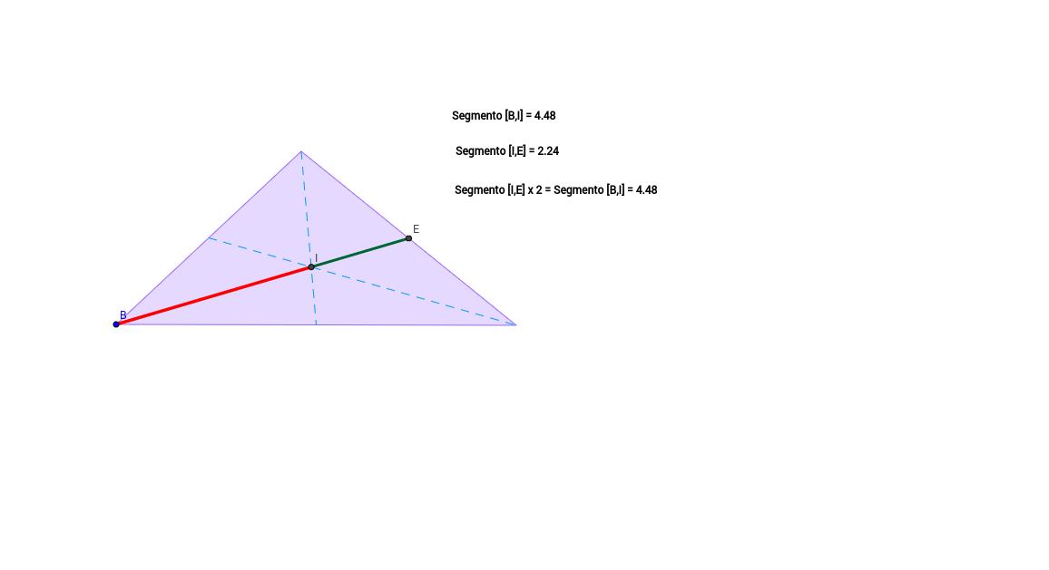 28. Activitat: Dibuixar un triangle qualsevol i el seu baric