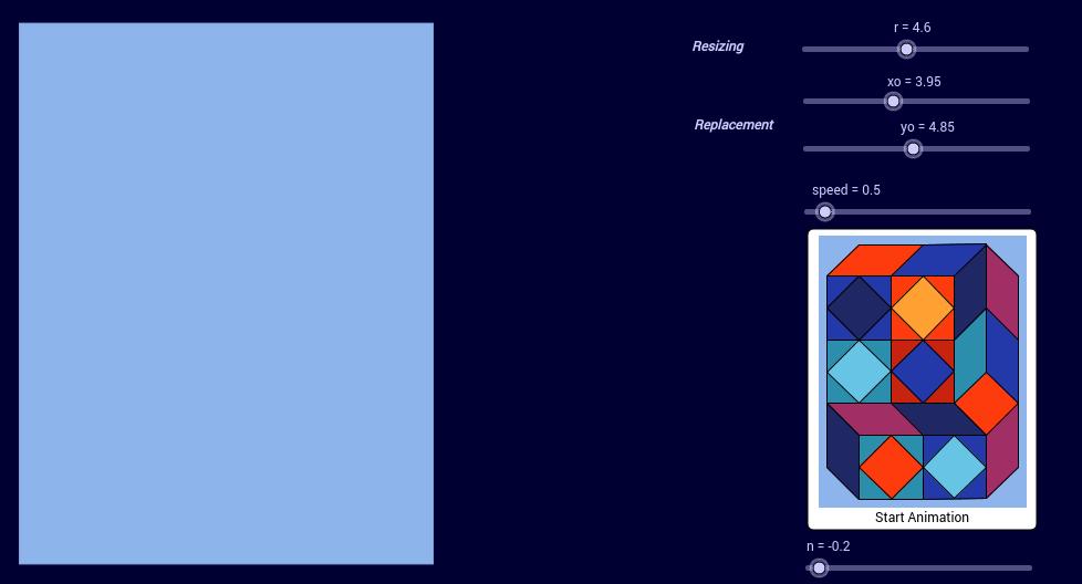 Vasarely Op-Art: Xico 6