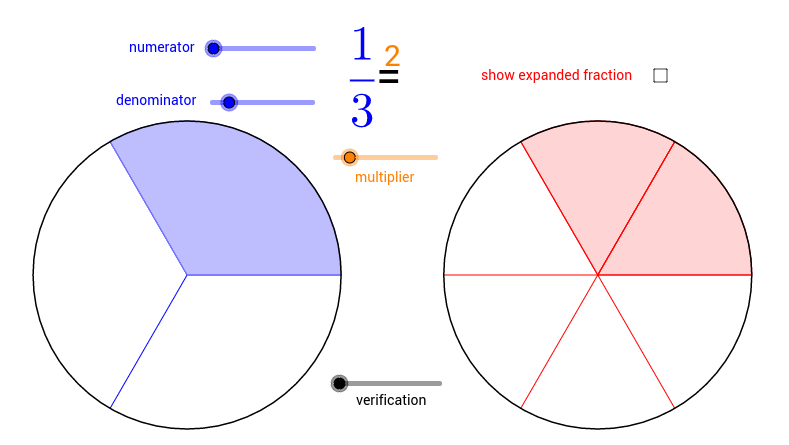 Expanding Fractions