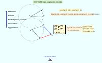 Vecteurs - Manipulations et applications
