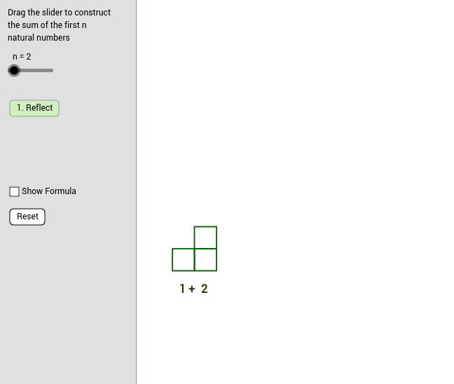 Geometric Evaluation of Finite Sums