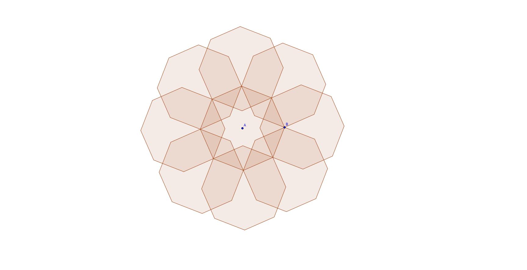 flower of octagones