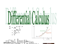 Student's Notes Book for Differentiation